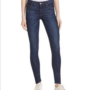 MOTHER Ankle Jeans The Looker in Clean Sweep Sz 24